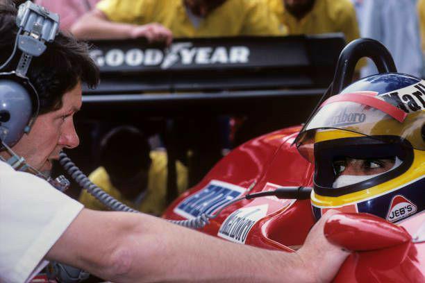 Lo sfogo d'altri tempi di Michele Alboreto nel 1987