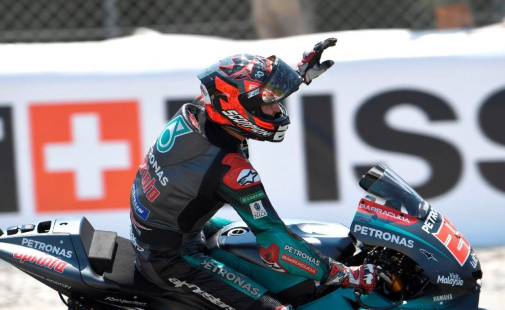 MotoGP | GP Catalunya: Quartararo, dalla sala operatoria al... podio