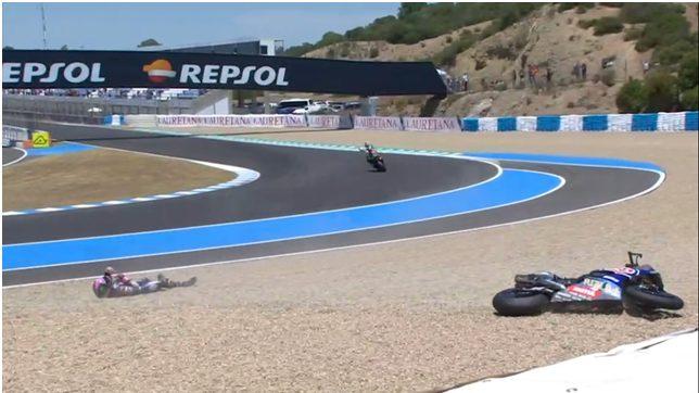 SBK | GP Spagna, analisi del contatto Rea-Lowes all'ultima curva 11