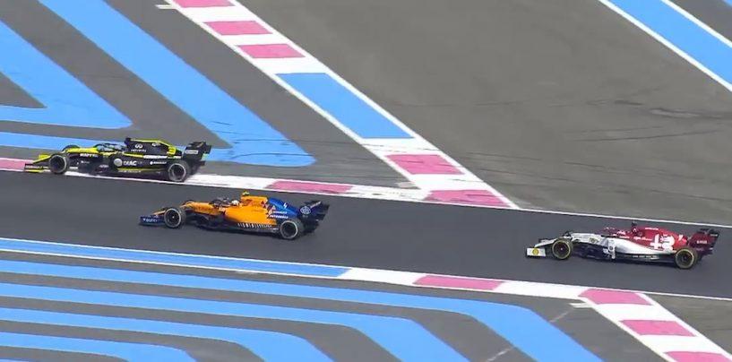 """<span class=""""entry-title-primary"""">Benvenuti nel cul-de-sac</span> <span class=""""entry-subtitle"""">Ricciardo si prende doppia penalità per l'ultimo giro al Paul Ricard... strano, vero?!</span>"""