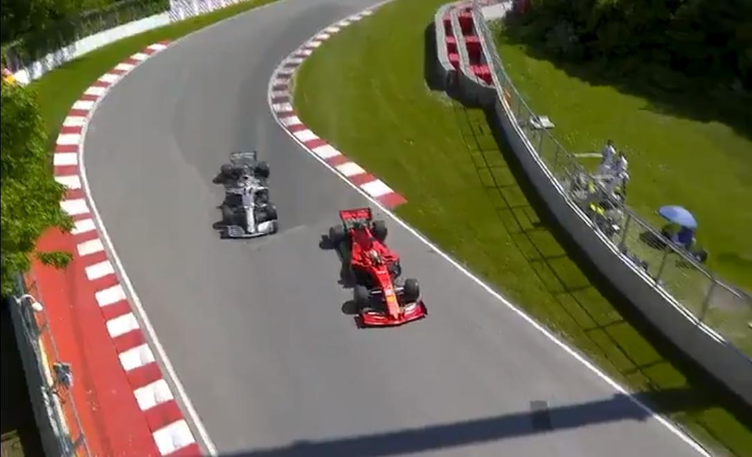 Arnoux e Villeneuve, con voi, sarebbero ai domiciliari. È F1 o Masterchef, questa?