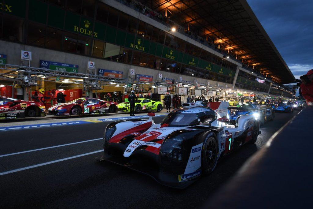 WEC | Le Mans: pole provvisoria (e incidente) per la Toyota #7