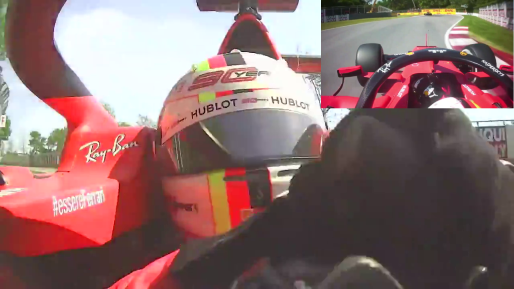 F1 | GP Canada: il video frontale conferma la non intenzionalità di Vettel 1