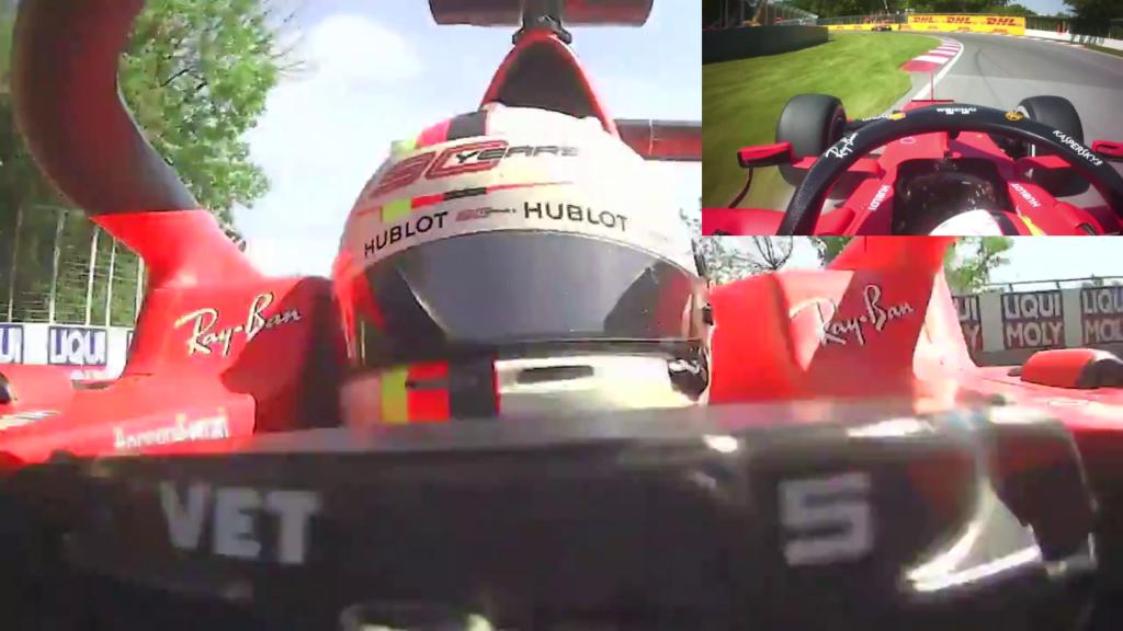 F1 | GP Canada: il video frontale conferma la non intenzionalità di Vettel 2