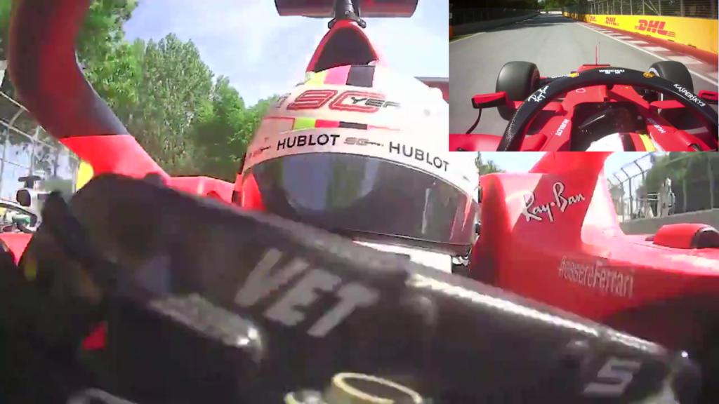 F1 | GP Canada: il video frontale conferma la non intenzionalità di Vettel 7