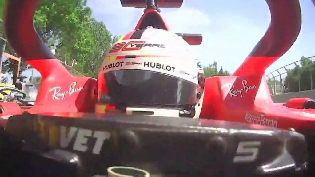 F1 | GP Canada: il video frontale conferma la non intenzionalità di Vettel
