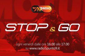 """""""Stop&Go"""" live venerdì 5 luglio alle ore 16:00 su Radio 5.9"""