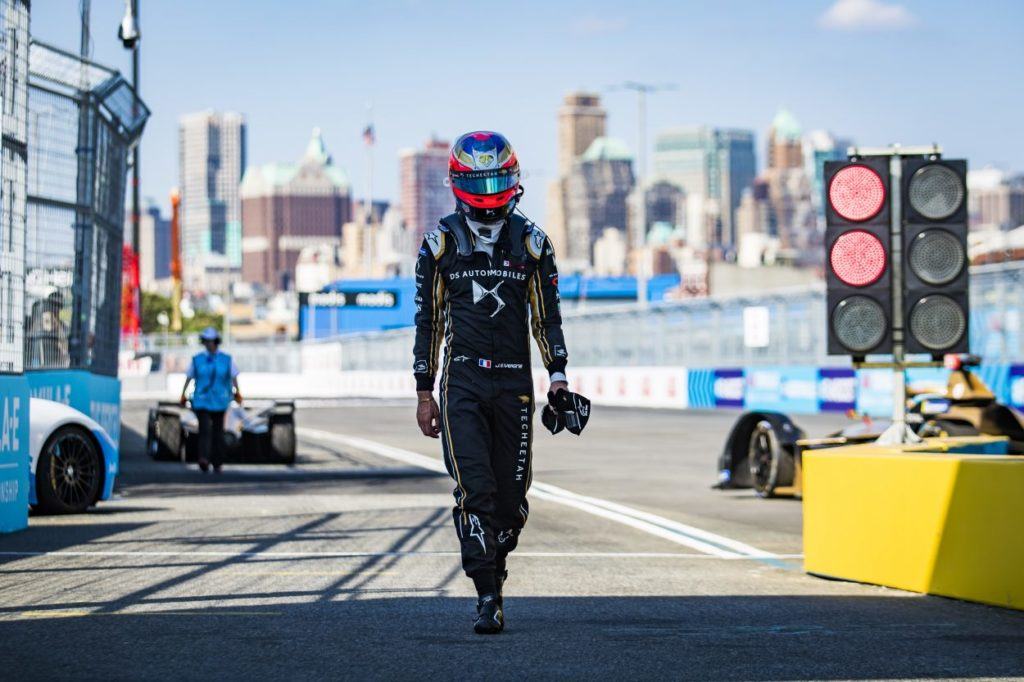 Formula E   Jean-Éric Vergne punito per condotta antisportiva