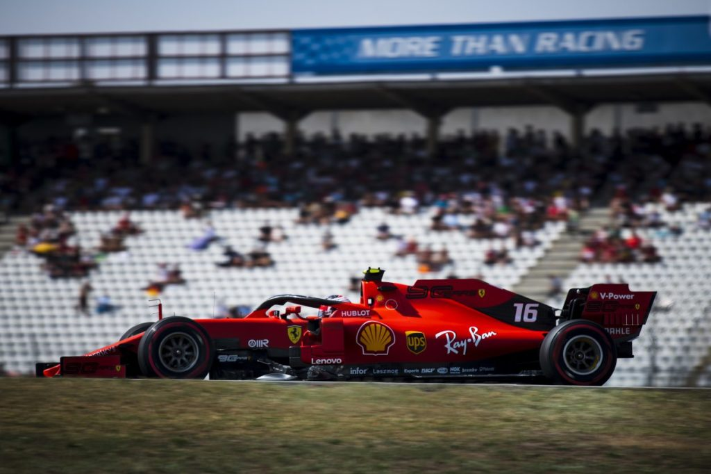 F1 | GP Germania, FP3: Leclerc ancora davanti con la Ferrari
