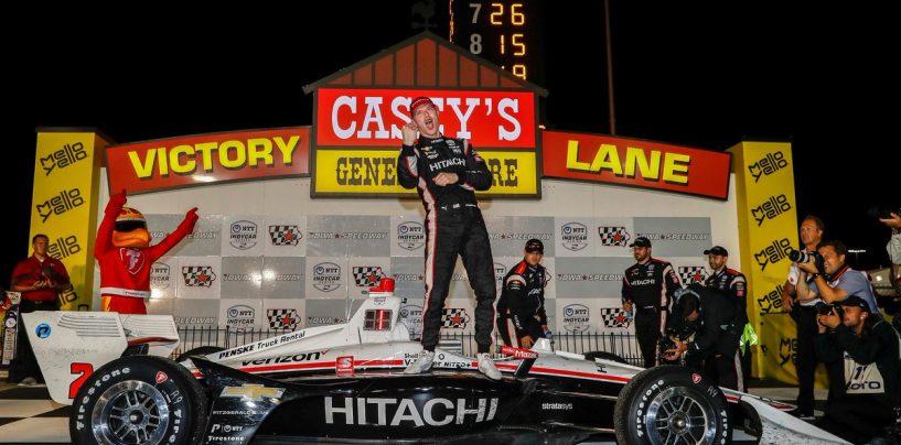 """<span class=""""entry-title-primary"""">Indycar   Iowa 300 2019: Newgarden trionfa e rafforza la leadership in campionato</span> <span class=""""entry-subtitle"""">Quarto successo stagionale per il pilota del Team Penske che sul traguardo precede Scott Dixon</span>"""