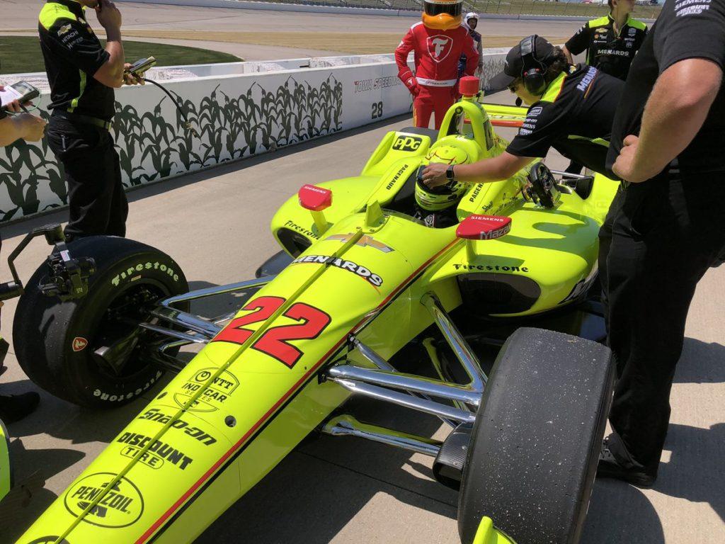 Indycar | Iowa 300 2019: Terza pole stagionale per Pagenaud