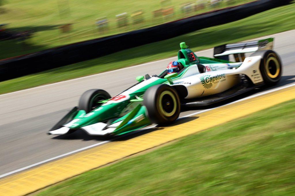 Indycar   Mid-Ohio 200: Miglior tempo per Herta al venerdì