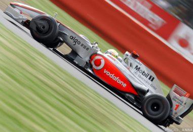"""La Silverstone """"amara"""" di Hamilton nel 2009"""