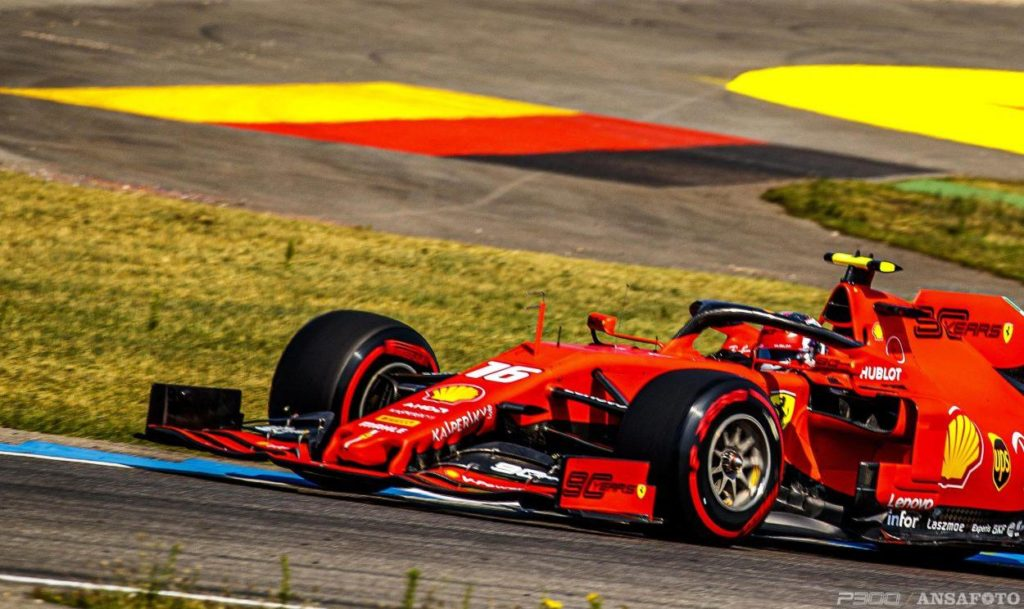 F1   GP Germania: Leclerc davanti a Vettel nella FP2