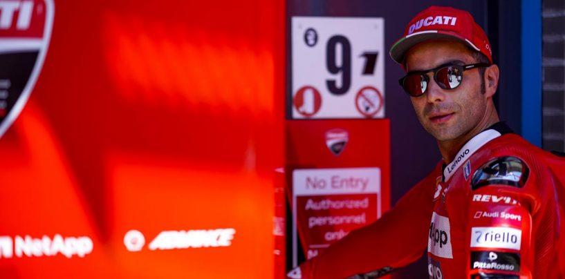 """<span class=""""entry-title-primary"""">MotoGP   Danilo Petrucci rinnova il contratto con Ducati</span> <span class=""""entry-subtitle"""">Anche per il 2020 la coppia del team ufficiale italiano sarà Petrucci-Dovizioso</span>"""