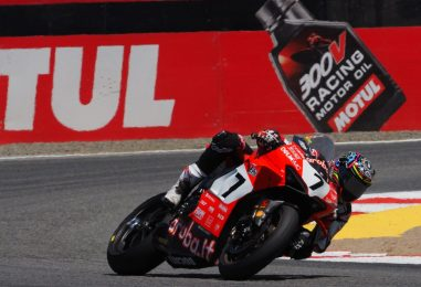 SBK | GP Stati Uniti: Chaz Davies rompe il suo digiuno, secondo Rea, Bautista out
