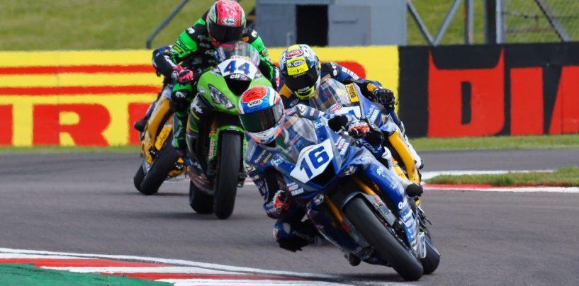 """<span class=""""entry-title-primary"""">GP Gran Bretagna, SSP600: Cluzel torna al successo dopo quasi quattro mesi</span> <span class=""""entry-subtitle"""">""""Julo"""" batte Caricasulo, Mahias e Krummenacher sul filo del rasoio. Si accorcia la classifica</span>"""