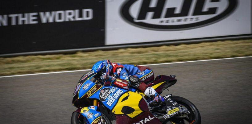 """<span class=""""entry-title-primary"""">Moto2   GP Germania: Alex Marquez torna ad imporre la sua legge</span> <span class=""""entry-subtitle"""">Vittoria e vetta della classifica per lo spagnolo. Sul podio anche Binder e Schrotter</span>"""