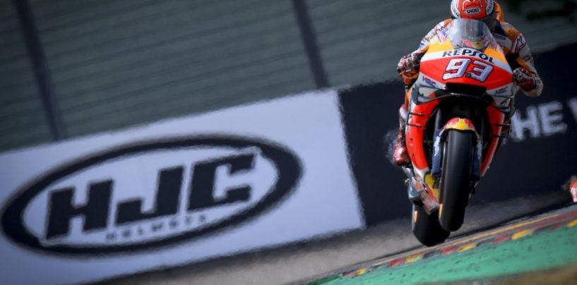 """<span class=""""entry-title-primary"""">MotoGP   GP Germania: Marquez suona la decìma (e gli avversari)</span> <span class=""""entry-subtitle"""">Ennesimo, imbarazzante dominio di Marc al Sachsenring. Vinales e Crutchlow sul podio. Rins a terra</span>"""