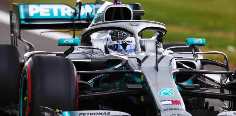 """<span class=""""entry-title-primary"""">F1   GP Gran Bretagna: Mercedes al comando nella FP2, Bottas miglior tempo</span> <span class=""""entry-subtitle"""">Leclerc paga due decimi sul giro secco, Hamilton vola sul passo gara</span>"""