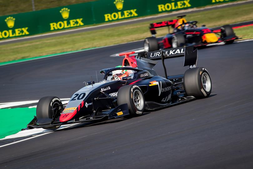 F3   GP Gran Bretagna: Leonardo Pulcini torna alla vittoria in gara-2