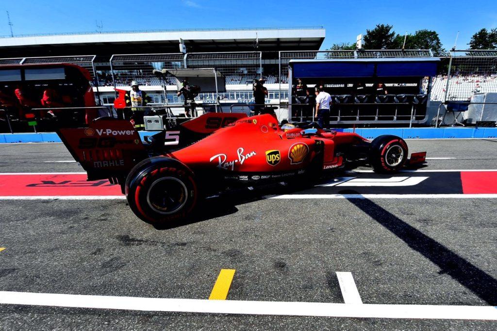 F1   GP Germania: doppietta Ferrari nella FP1, Vettel al comando
