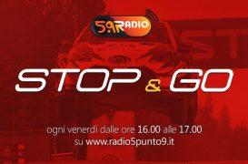 """""""Stop&Go"""" live venerdì 2 agosto alle ore 16:00 su Radio 5.9"""