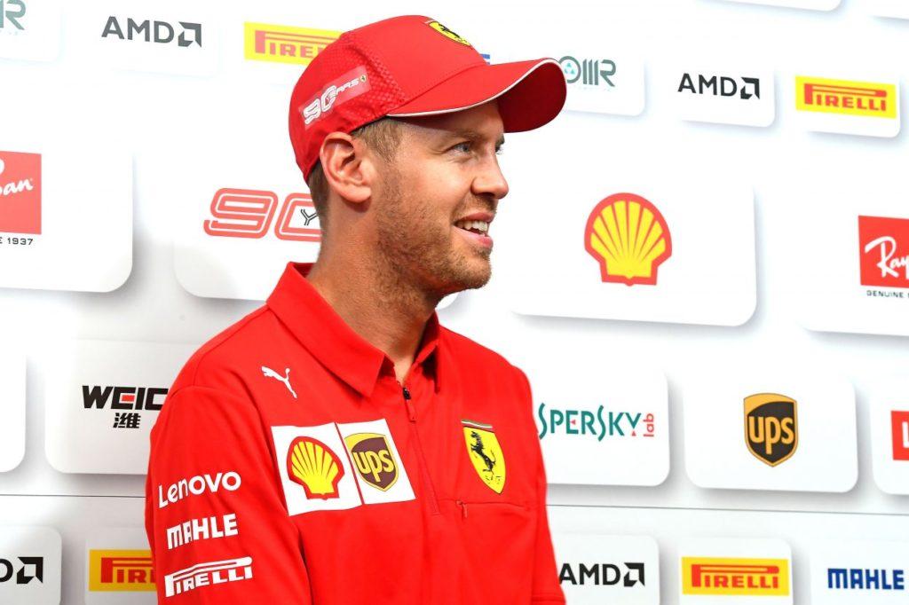 F1   GP Belgio: Vettel davanti a Leclerc nella FP1, doppietta Ferrari