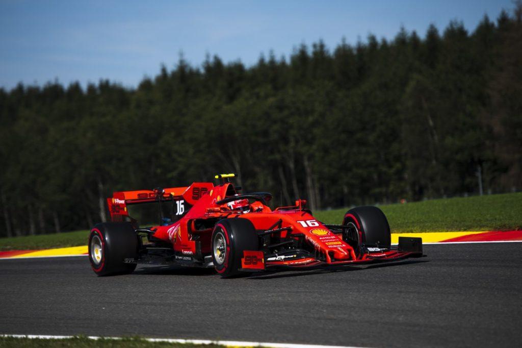 F1   GP Belgio, qualifiche: Pole Leclerc, prima fila tutta Ferrari