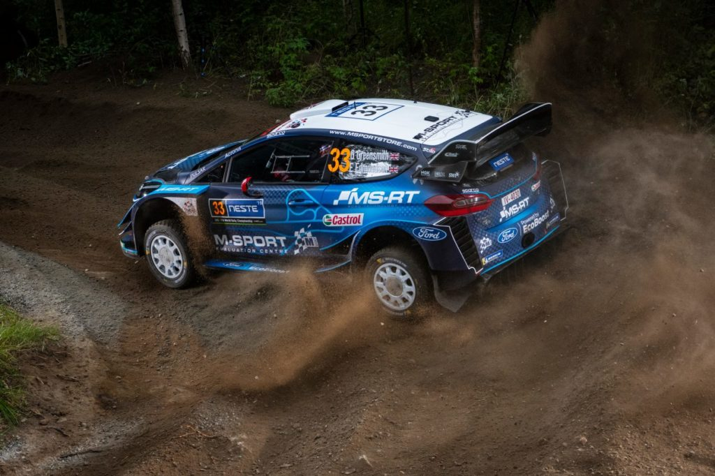WRC | Evans out anche in Germania, Greensmith di nuovo al suo posto