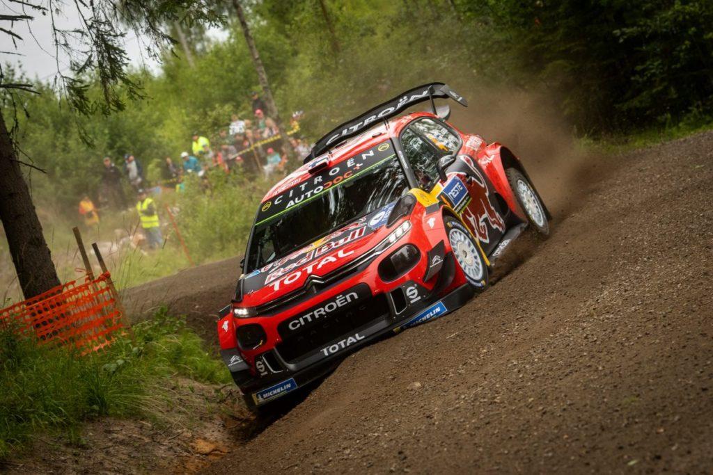 WRC   Finlandia: Tänak allunga, Lappi supera Latvala