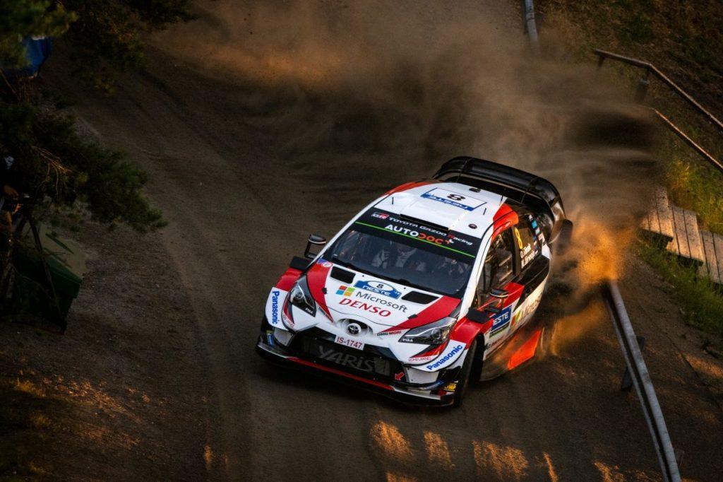 WRC | Finlandia: tripletta Toyota dopo il primo giro, Tänak in testa