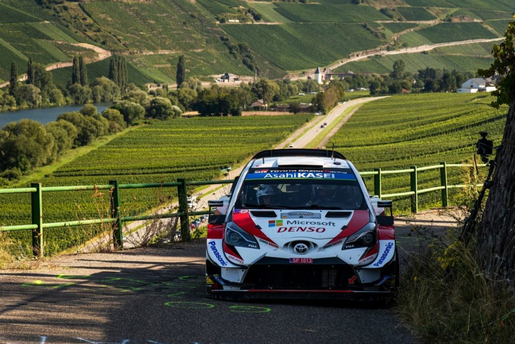 WRC | Tripletta Toyota in Germania, quinta vittoria per Ott Tänak