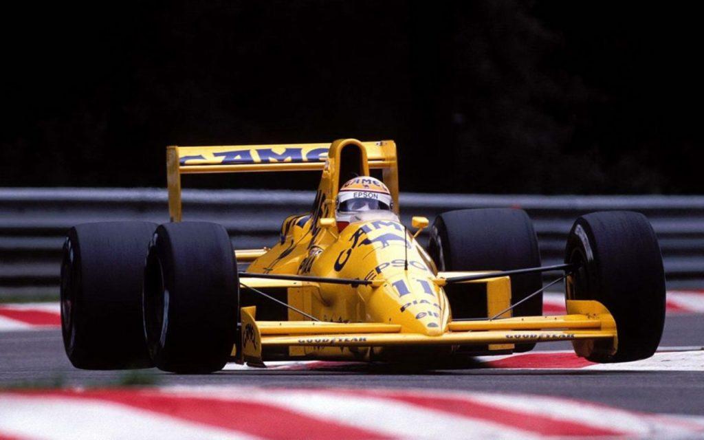 Bella e lenta: la Lotus 101 e il disastro di Spa 1989