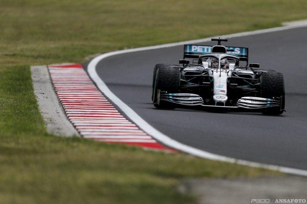 F1 | GP Ungheria: Lewis Hamilton comanda nella FP1