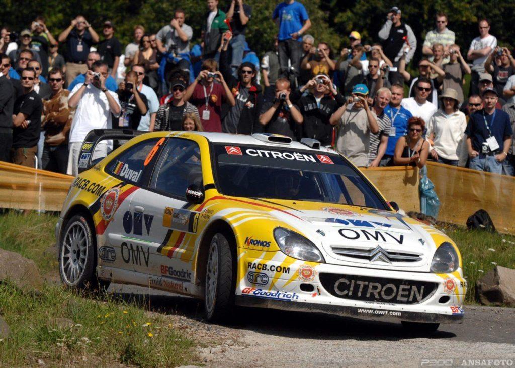 WRC   Germania 2007: la rivincita di François Duval