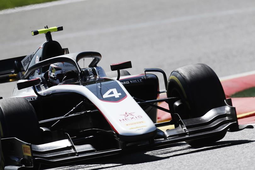 F2   GP Belgio: quarta pole per Nyck de Vries, Latifi 11°