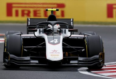 F2 | GP Ungheria: pole sotto l'acqua per Nyck de Vries