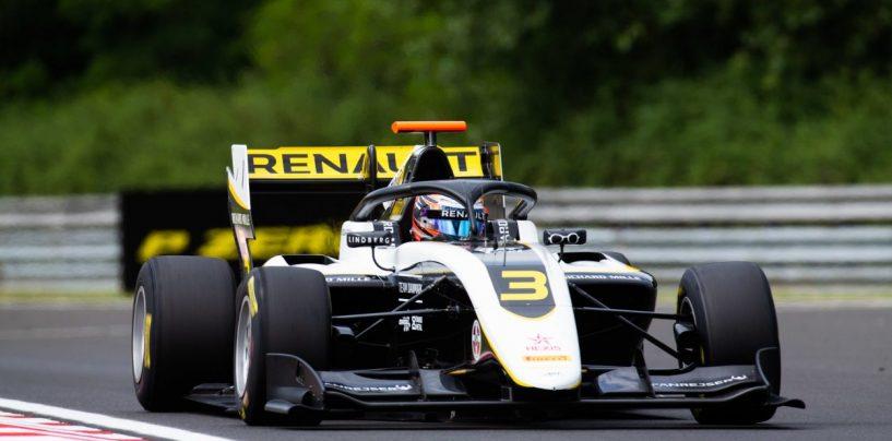 "<span class=""entry-title-primary"">F3 | GP Ungheria: Lundgaard domina gara-1, doppietta ART con Fewtrell</span> <span class=""entry-subtitle"">Vips, quarto, recupera solo due punti a Shwartzman. Armstrong in pole per gara-2</span>"