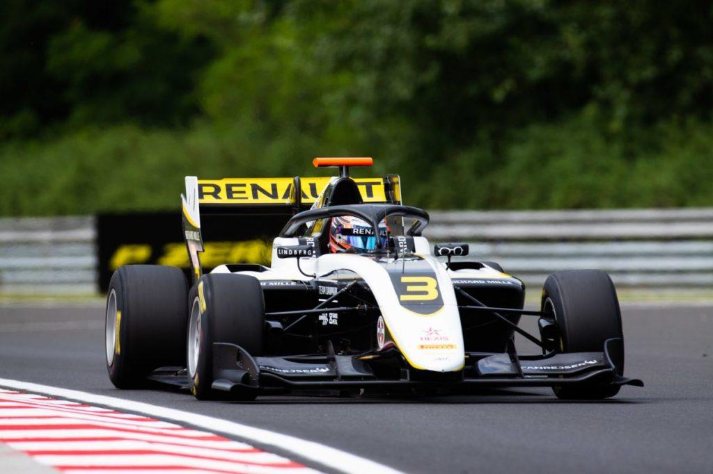 F3   GP Ungheria: Lundgaard domina gara-1, doppietta ART con Fewtrell