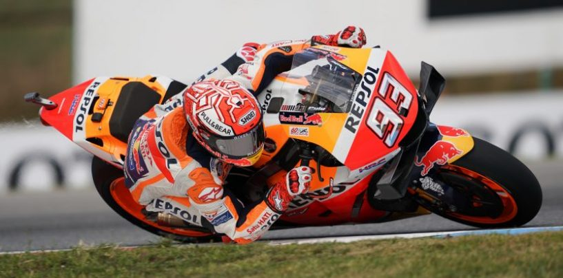 """<span class=""""entry-title-primary"""">MotoGP   GP Repubblica Ceca: Márquez divino sulla pioggia, in pole a Brno</span> <span class=""""entry-subtitle"""">Lo spagnolo umilia tutti i suoi avversari guidando con le slick sul bagnato. Miller secondo, Zarco terzo</span>"""