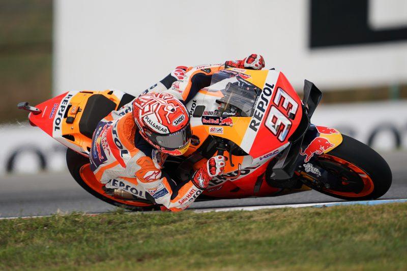 MotoGP   GP Repubblica Ceca: Márquez divino sulla pioggia, in pole a Brno