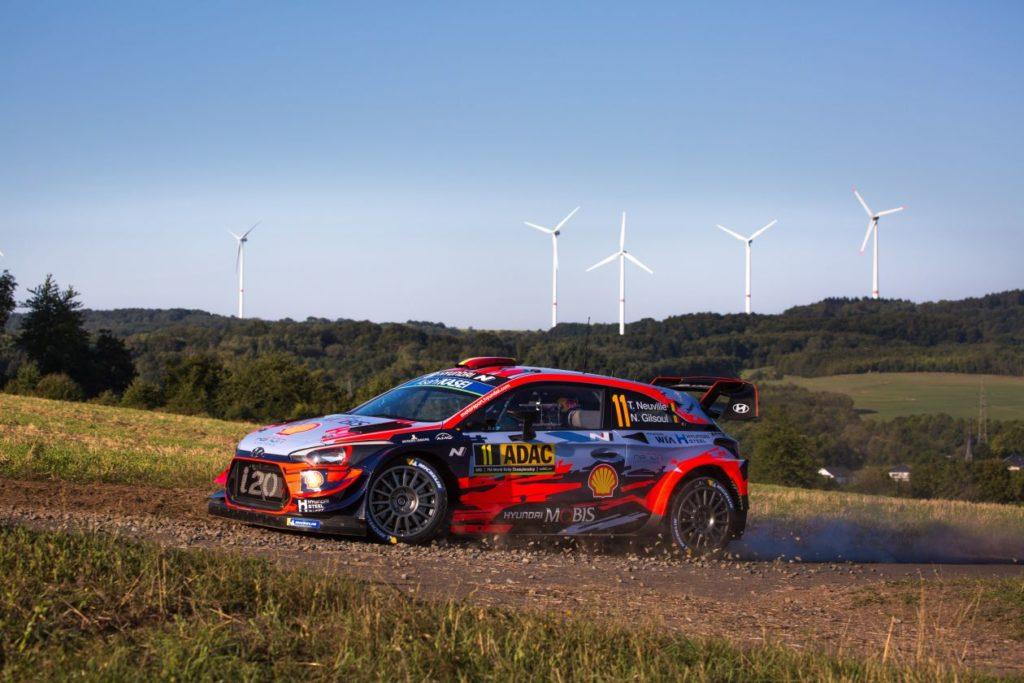 WRC   Germania: 5 secondi tra Tänak e Neuville, situazione rivoluzionata in WRC-2
