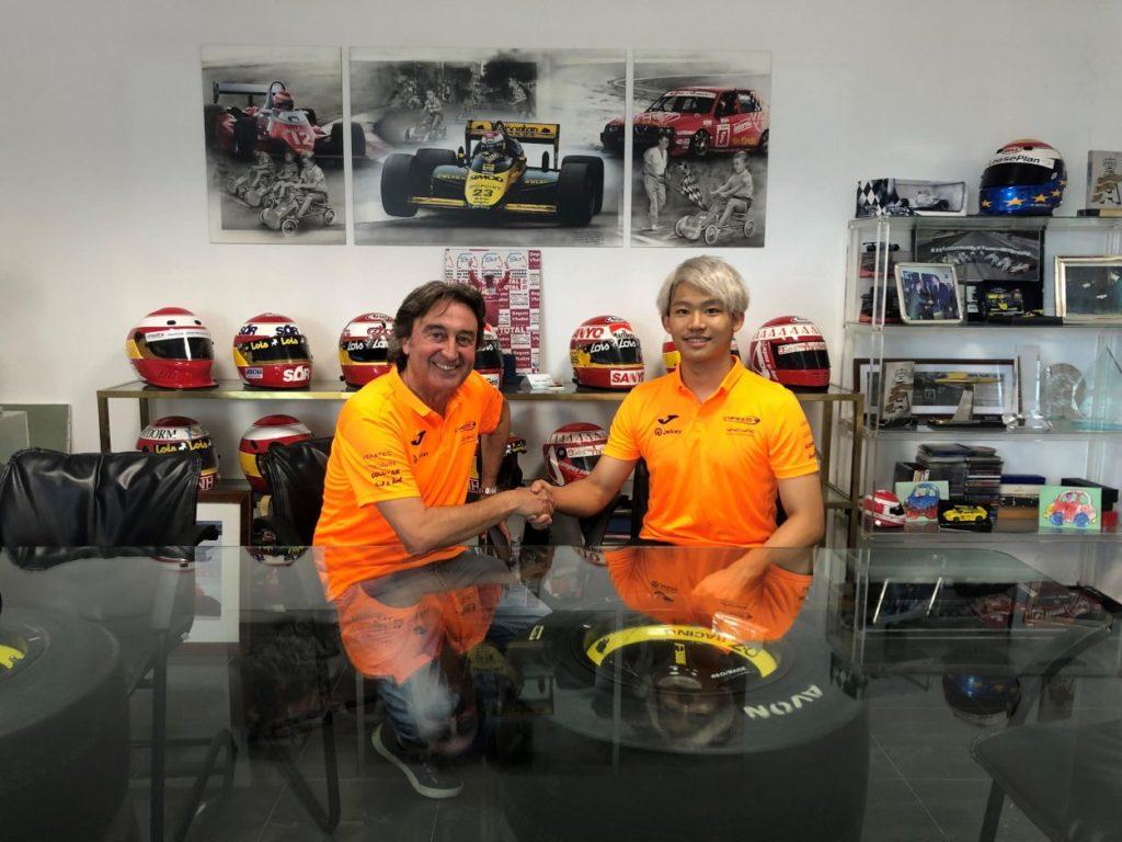 F2 | Marino Sato con Campos fino al termine della stagione