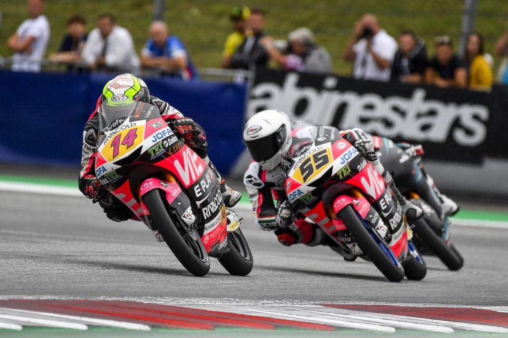 Moto3 | GP Gran Bretagna: Tony Arbolino ancora in pole davanti a Dalla Porta