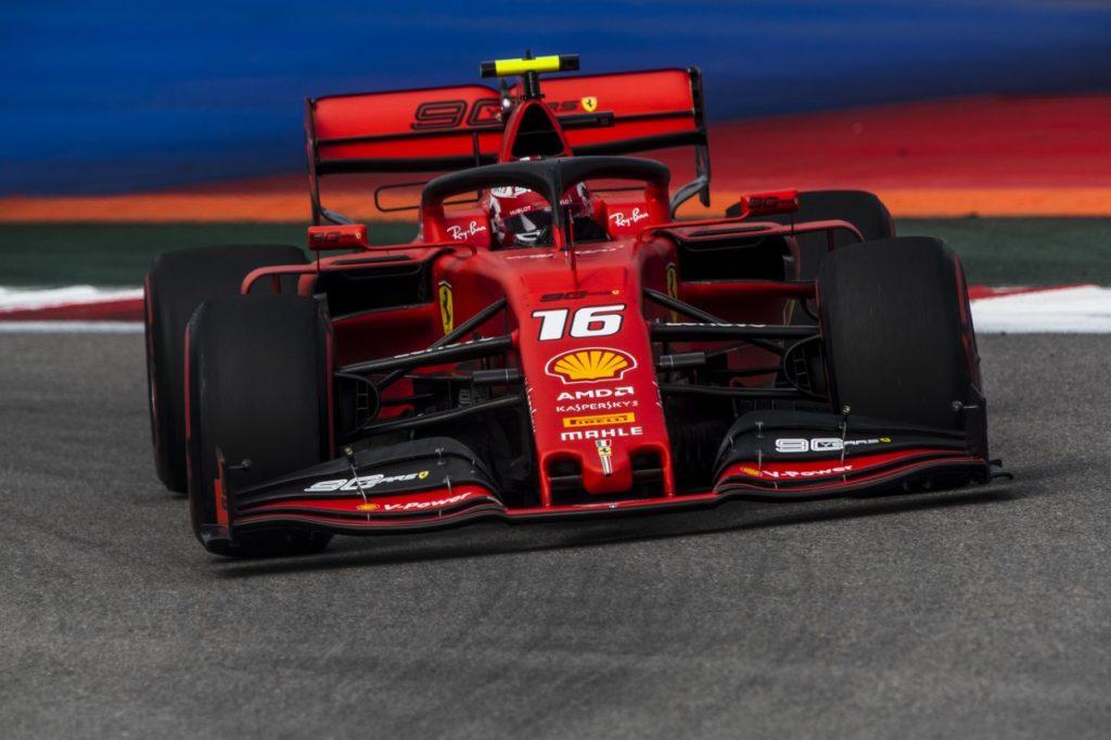 F1   GP Russia, qualifiche: quarta pole di fila per Charles Leclerc con la Ferrari!