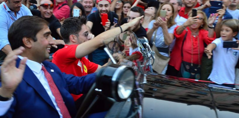 """<span class=""""entry-title-primary"""">Ci rivediamo fra quattro o cinque anni</span> <span class=""""entry-subtitle"""">La Marea Rossa sotto il podio che osanna Leclerc. Ma vedremo cosa riserverà il futuro</span>"""