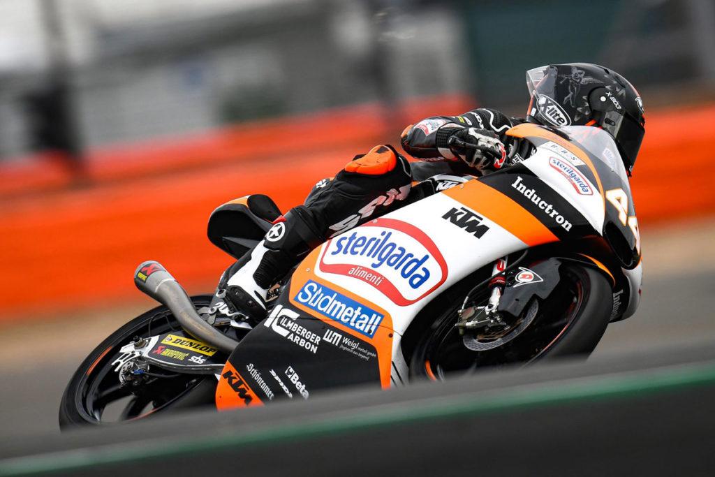 Moto3   GP Aragón: giro stratosferico di Áron Canet, sua la pole