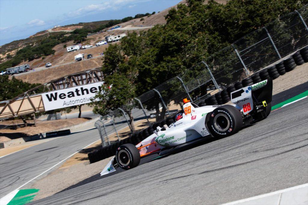 Indycar   Herta domina i test di Laguna Seca