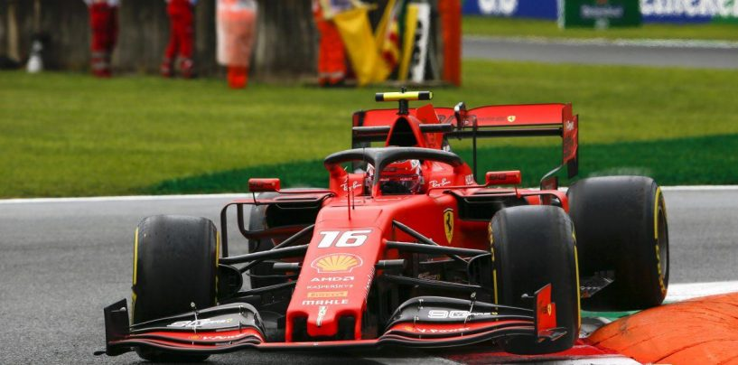 """<span class=""""entry-title-primary"""">F1   GP Italia: Leclerc si conferma nella FP2 davanti a Hamilton</span> <span class=""""entry-subtitle"""">68 millesimi a dividere Ferrari e Mercedes nella simulazione di qualifica</span>"""